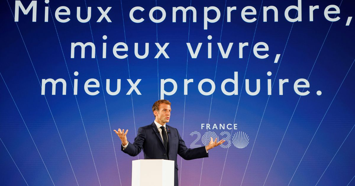 Macron unveils 30-bln euro plan for innovation and industrial revival | Reuters